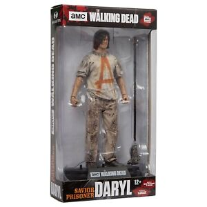 The Walking Dead Savior Prisoner Daryl 7 inch Action Figure