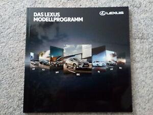 LEXUS DAS LEXUS MODELLPROGRAMM Prospekt 2014 - Wiesloch, Deutschland - LEXUS DAS LEXUS MODELLPROGRAMM Prospekt 2014 - Wiesloch, Deutschland