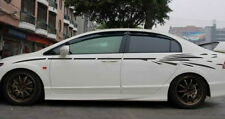 Indiashopers Side Racing Stripe Windows, Sides, Hood, Bumper Car Sticker