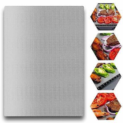 Grillmatte Dauer Antihaft Bbq Backmatte Teflon Brat Unterlage Schale Grillmatten