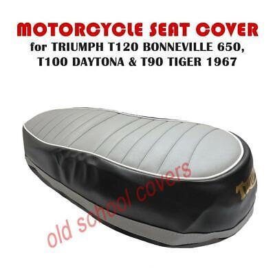 L1068 1963-1966 Triumph T120 TR6 T100 T100R Daytona Tiger 500cc 650cc seat Code