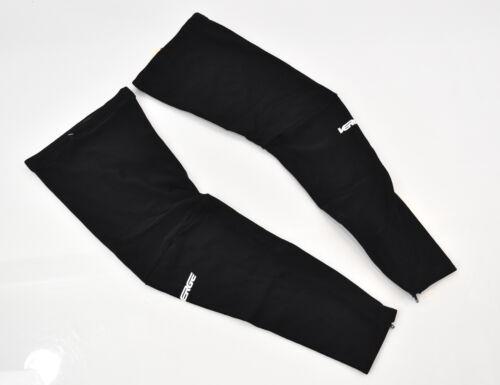 Verge Lycra Cycling Leg Warmers Black XL New Old Stock