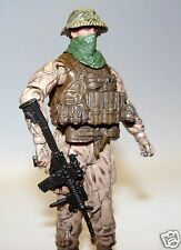 1:18 BBI Elite Force Marine Recon Special Forces Ops w/ M4 Rifle Figure 3 3/4""