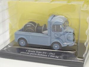 Eligor-Presse-1-43-Citroen-Type-HY-1963-Porte-Bobines