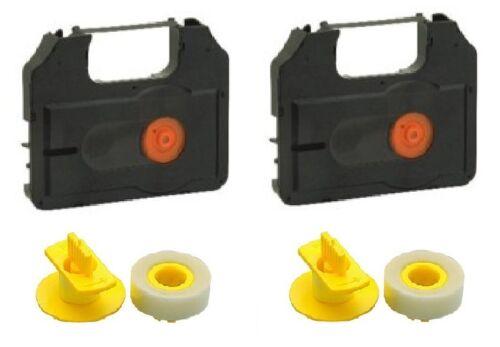 2x Cinta de Color Lift-Off para Brother 8300 9300 M7200 M7300 M7800 P910