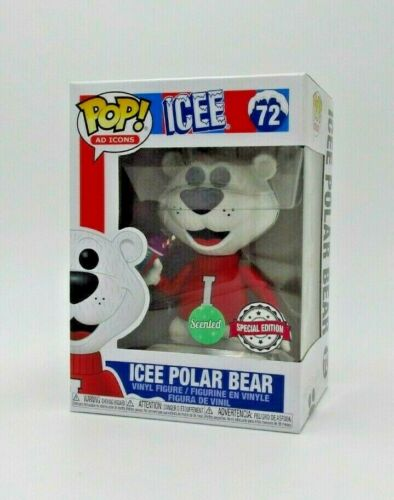 EXC GRAPE SCENTED ICEE POLAR BEAR #72 *UK STOCK* FUNKO POP AD ICONS: ICEE