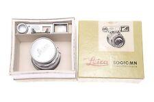 Leica Summicron 50mm 1:2 whit Goggles Rigid Chrome  OVP