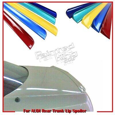 PAINTED AUDI A8 4E Sedan Trunk Lip Spoiler Wing 2003-2008