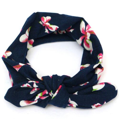 1//3tlg Baby Stirnband Kinderhaarband Blume Haarband Mädchen Haarschmuck Knoten