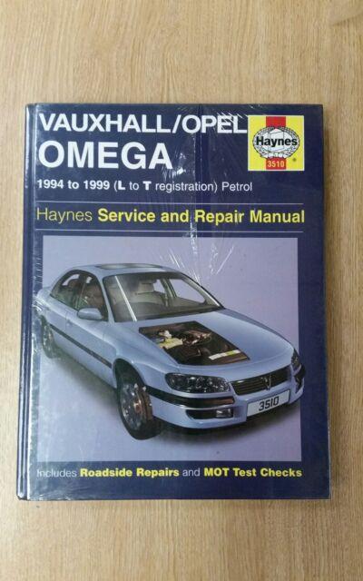 VAUXHALL OMEGA 1994-1999 L-T REG HAYNES WORKSHOP MANUAL 3510 NEW SEALED FREE P&P