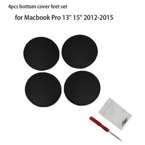 Efficient 4pcs Bottom Case Rubber Feet Replacement Pad For Macbook Pro Retina A1398 A1425 Computer & Office
