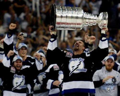 Dave Andreychuk Tampa Bay Lightning Stanley Cup Final 8x10 Photo