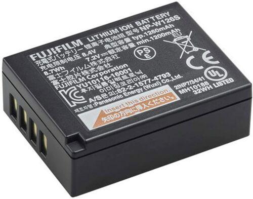 Batería Original FUJIFILM NP-W126s se adapta a X-T3 etc * Distribuidor Oficial FUJI X100v *