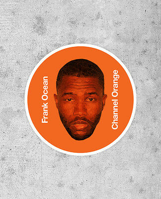 Frank Ocean Sticker - Channel Orange - kanye west Jay-Z OFWGKTA pyramids