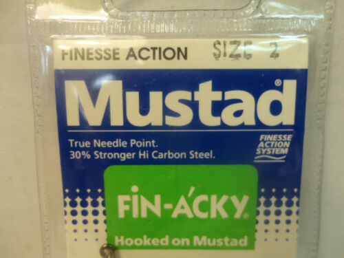 10 Total Hooks Mustad Finesse Action Power Lock Hooks #37176 New Size 2