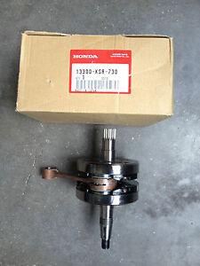 albero-motore-Honda-CR125-13300-KSR-730-2005-2006-2007-crankshaft-vilebrequin