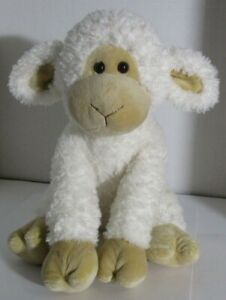 Gund-Lamb-Animal-Alley-Plush-White-Tan-Sheep-12-034-SOFT-FLUFFY-ADORABLE-Baby-Toy