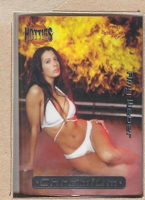 BENCHWARMER 2002 INSERT CARD #3 CHROMIUM HOTTIES