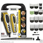 Wahl Professional Hair Cut Trimmer 22 Piece Kit Clippers Haircut Barber Set Pro