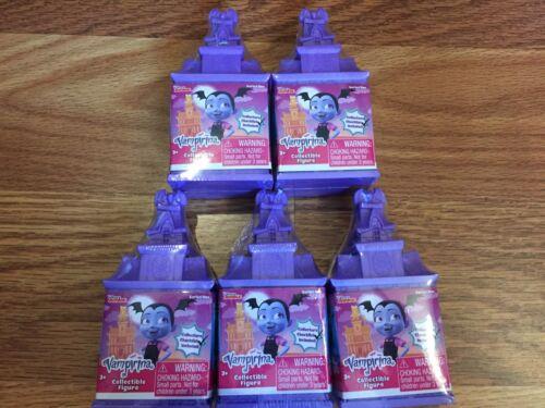 Lot of 5 Disney Vampirina Blind Castles Collectible Figures Sealed New
