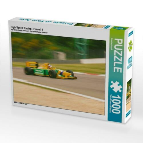High Speed Racing-FORMULE 1 1000 Pièces Puzzle travers 4059478801509