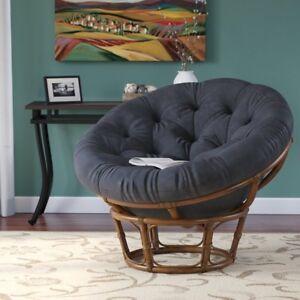 Image Is Loading Papasan Chair Frame With Cushion 42 034 Rattan