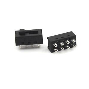 5pcs-8-Pins-XC-2310-Small-Pointed-Sliding-Switch-Three-speed-Toggle-Switch-UK