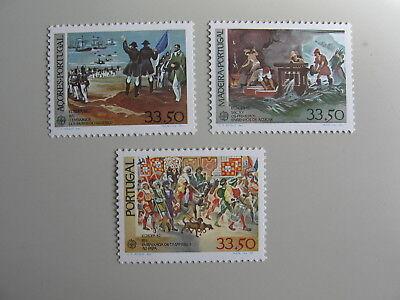 Azoren/madeira/portugal Postfrisch/mnh/** Online Rabatt Cept-europa 1982 Einzellwerten