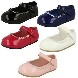In Stil; Girls Spot On Diamante Detail Party 'shoes' Modischer