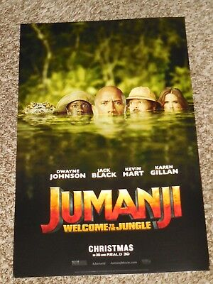 Jumanji Welcome to the Jungle Movie Art Silk Poster 13x20 32x48 inch