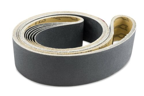 2 X 60 Inch 220 Grit Silicon Carbide Sanding Belts 6 Pack