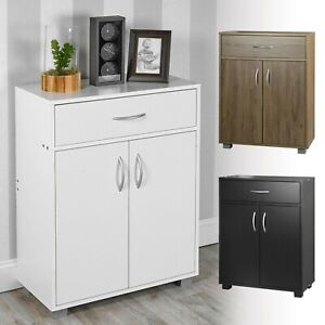 Small 2 Door 1 Drawer Hallway Living, Small Cabinet For Living Room