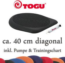 TOGU Dynair Keil-Ballkissen Premium Schwarz Diagonale 40 cm | Balance Neu+OVP