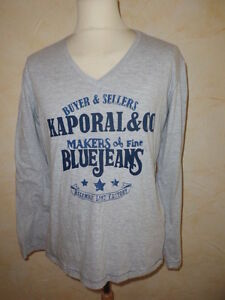 T-shirt-manches-longues-KAPORAL-5-Taille-L