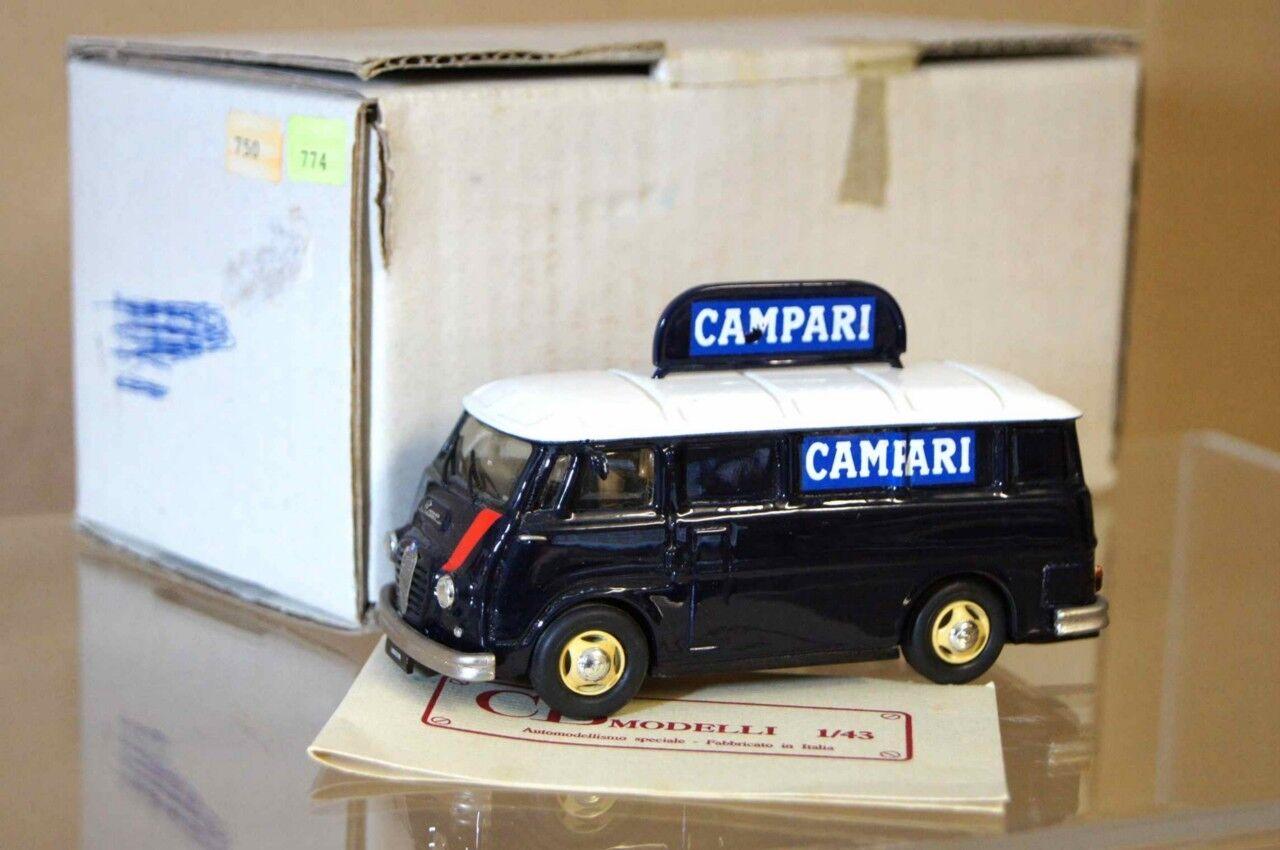 Carlo BRIANZA CB BBR BBR BBR 1950 ALFA ROMEO F12 FURGONE CAMPARI AR 21dc1b