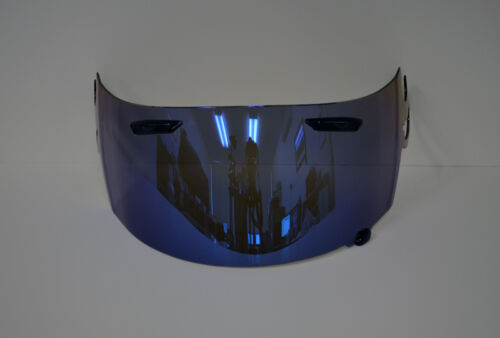 Blue Iridium Visor Shield for Arai RR5 Corsair V RXQ GP Aftermarket UK