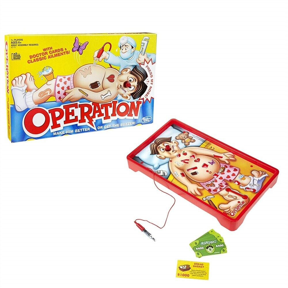 Operation Kids Family Classic Board Game Fun Childrens Xmas Gifts Toys UK Hot 2