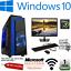 Fast-Gaming-PC-Intel-Core-i5-Quad-Core-Computer-8GB-Ram-1TB-2GB-GT710-WiFi-HDMI thumbnail 1