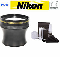 52mm Telephoto Zoom Lens For Nikon D5500 D7000 D610 D3100 D3000 D5100 D5000 D40