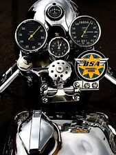 BSA Club, Retro metal Aluminium Sign vintage Motorbikes Garage