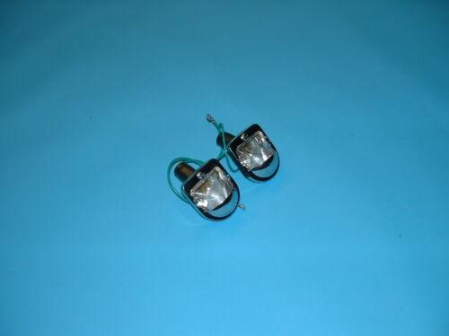 JAGUAR Type E série 1 numéro plaque lampe Set Nouveau