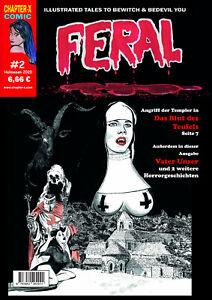 Feral #2 - Deutsche Ausgabe SW Horror Comic - deutsch - NEUWARE