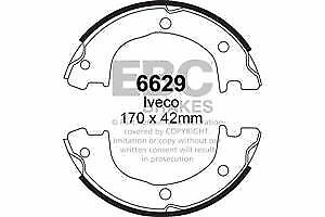 6682 EBC Rear Brake Shoes fit IVECO  Daily 99-2006