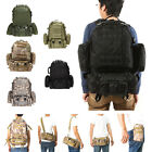 55L Outdoor Army Military Tactical Molle Backpack Rucksacks Camping Hiking Bags