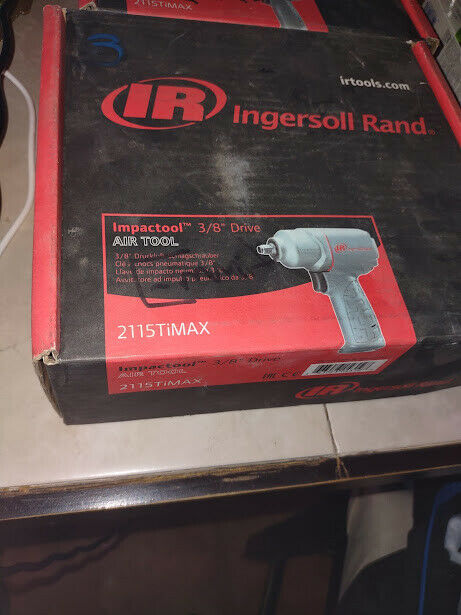 Ingersoll Rand 2115TIMAX Impact Wrench. Available Now for 140.00