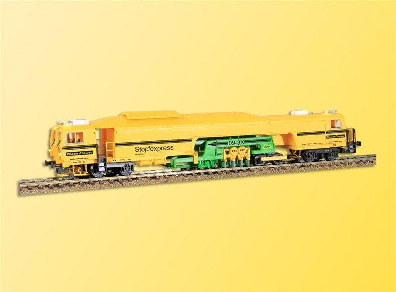 HS Viessuomon 2691 Rail Fabric Express Bauzug da Plaser - Theurer 26091
