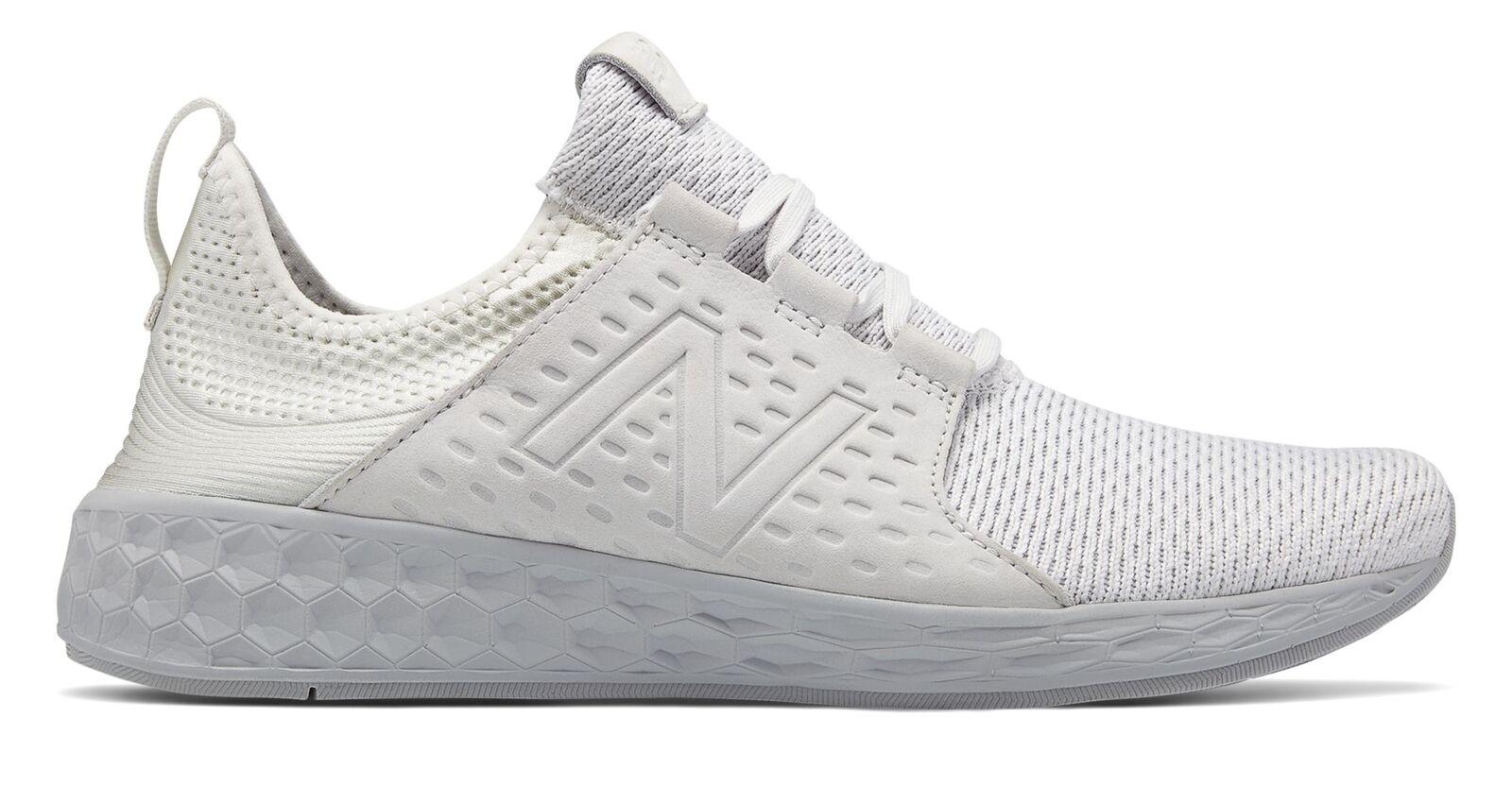 New Balance hommes Fresh Foam Cruz Chaussures blanc
