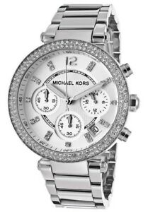 5e887771c5d2 Image is loading Michael-Kors-Original-MK5353-Women-039-s-Chronograph-