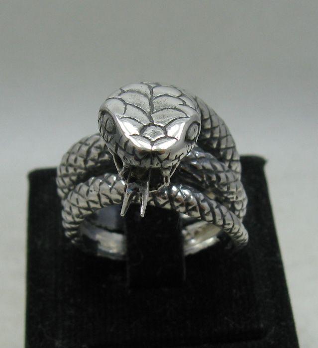 925 silver RING Schlange R001165 EMPRESS