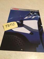 Yamaha DT125R DTR 125 moto prospectus brochure publicité prospekt pub DT 125 R